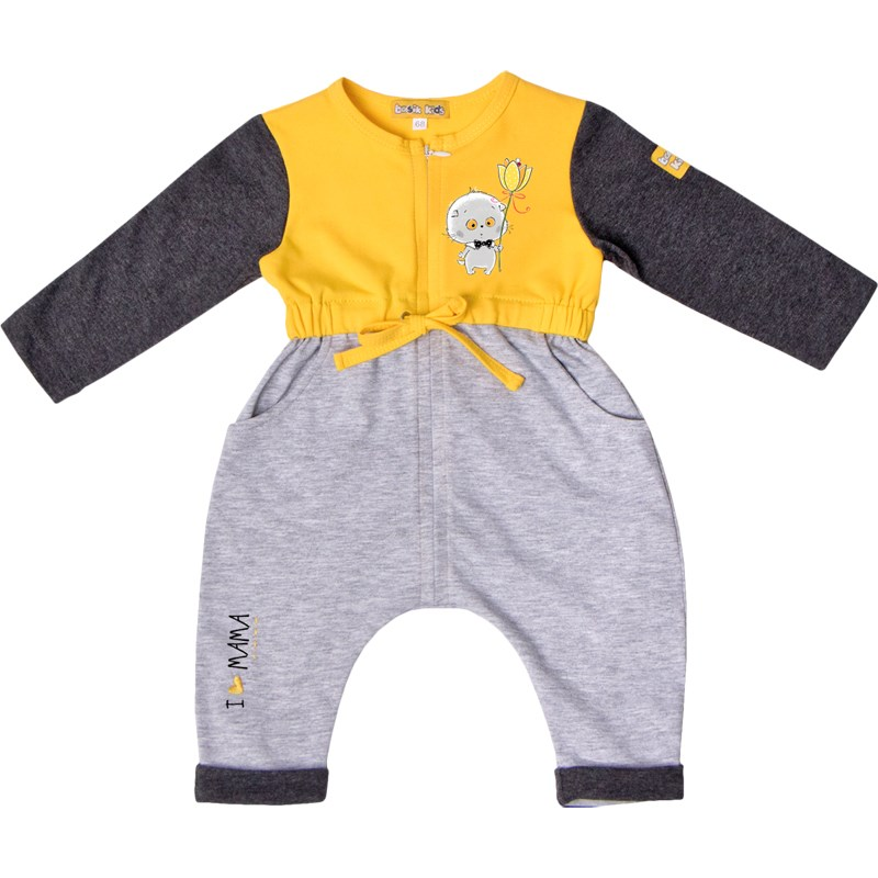 Jumpsuit with long sleeve kids clothes children clothing kids clothes children clothing цена и фото