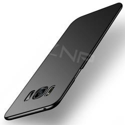 ZNP 럭셔리 슬림 보호 케이스 삼성 갤럭시 S9 S8 플러스 8 하드 PC 전화 커버 삼성 S7 가장자리 S7 S8 S9 케이스 쉘