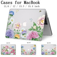 Laptop Case For Apple Hot Macbook 13.3 15.6 Inch For MacBook Air Pro Retina 11 12 13 15.4 With Screen Protector Keyboard Cove