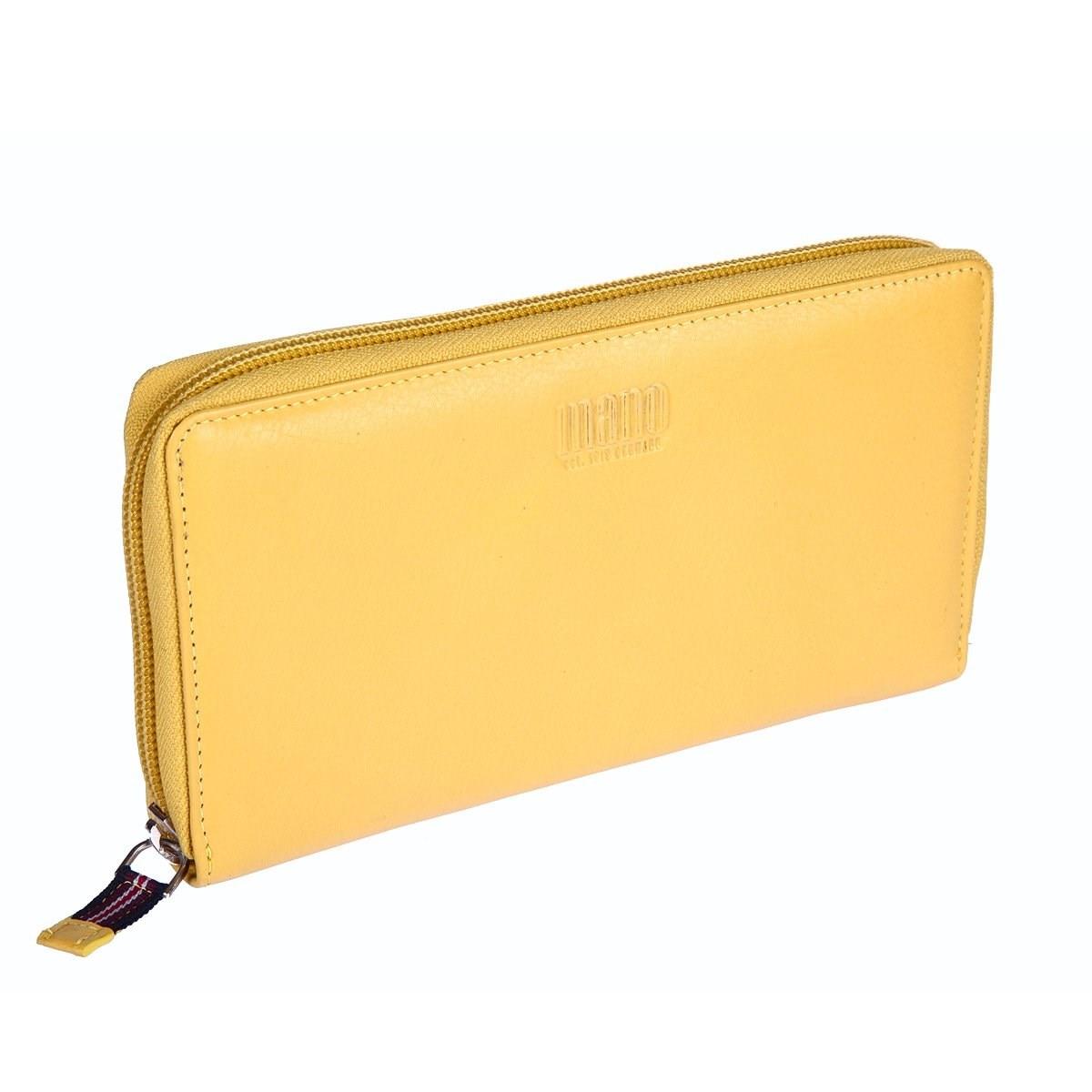 Purse Mano 20102 SETRU yellow кошельки бумажники и портмоне mano 20103 setru black