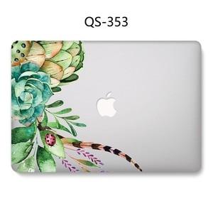 Image 4 - Yeni Laptop Case Için Sıcak Macbook 13.3 15.6 Inç MacBook Hava Pro Retina 11 12 13 15.4 Ekran koruyucu Klavye Kapağı Hediye