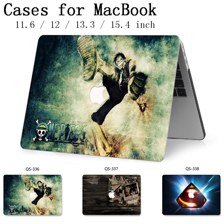 Laptop Case New For Macbook 13.3 15.6 Inch For MacBook Air Pro Retina 11 12 13 15.4 With Screen Protector Keyboard Cove Gift Hot-in Laptop Bags & Cases from Computer & Office