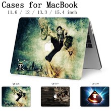 Laptop Case New For Macbook 13.3 15.6 Inch For MacBook Air Pro Retina 11 12 13 15.4 With Screen Protector Keyboard Cove Gift Hot