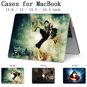 Image 1 - Laptop Case New For Macbook 13.3 15.6 Inch For MacBook Air Pro Retina 11 12 13 15.4 With Screen Protector Keyboard Cove Gift Hot