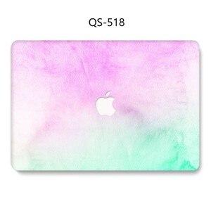 Image 4 - Na laptopa etui na Macbooka 13.3 15.4 Cal dla MacBook Air Pro Retina 11 12 13 15 z osłoną ekranu klawiatura Cove nowy przypadku jabłko