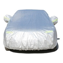 Full Coverage Car Covers For Honda CR-V CRV Snow Ice Dust Sun UV Shade Cover Silver Gray Blue Auto Outdoor Protector