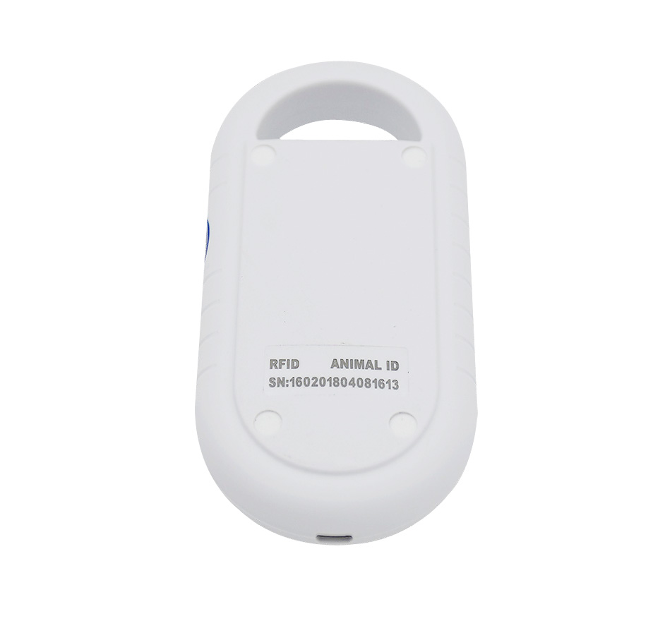 Livraison gratuite ISO11784/5 FDX-B Animal lecteur d'identification de puce transpondeur USB RFID poche microchip scanner pour chien, chats, cheval - 2