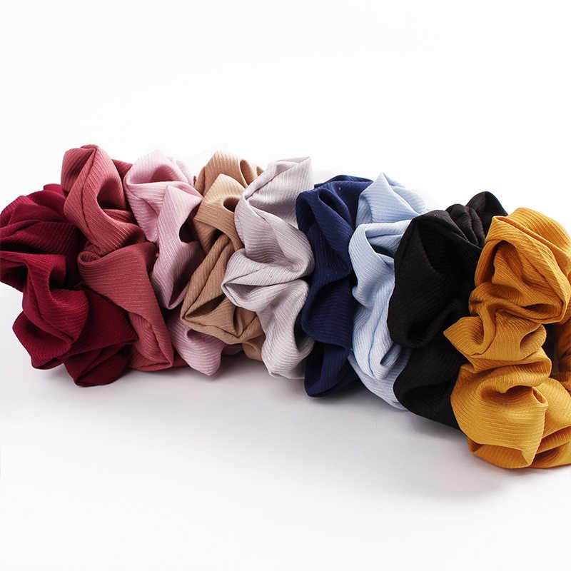 Популярный бант, резинки для волос, кольцо для волос, модные Ленточные резинки для волос, резинки для волос, конский хвост, галстук, твердый цветной головной убор, аксессуары для волос для девочек