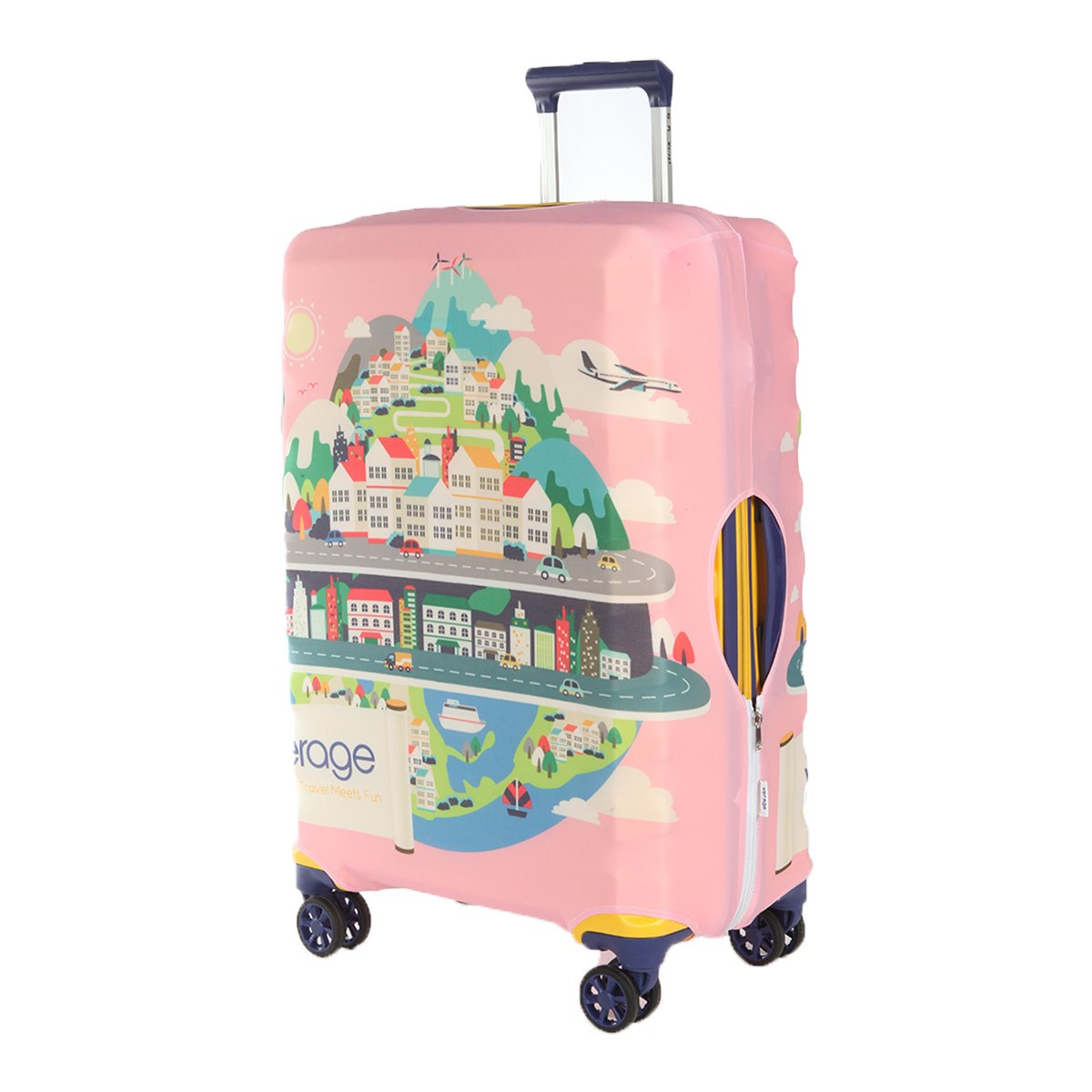 Protective cover for suitcase Verage VG5296X L