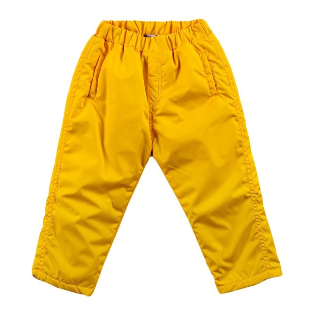 Basik Kids Брюки утепленные желтые