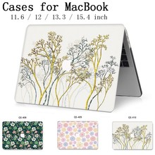 New For MacBook Air Pro Retina 11 12 13 15 For 2019 Apple Laptop Case Bag 13.3 15.6 Inch With Screen Protector Keyboard Cove bag