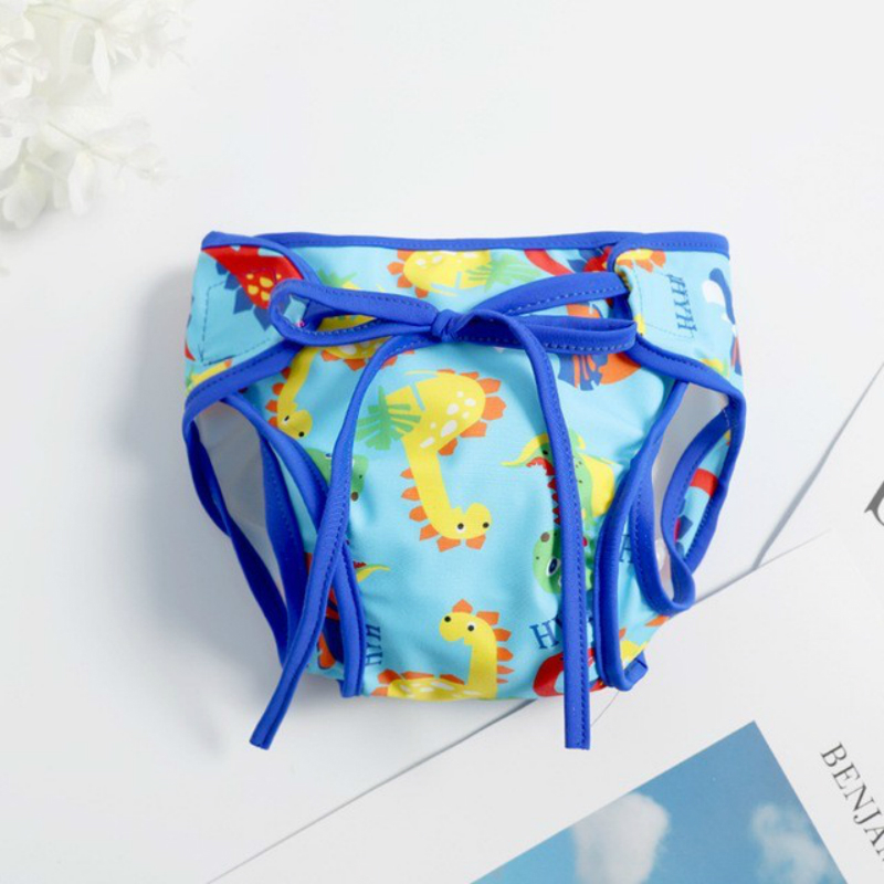 5 15KG Kids Waterproof Swim Diapers 2019 Washable Pool Pants Unisex Adjustable Baby Swim Diaper Pant Breathable Cover Suit in Children Trunks from Sports Entertainment