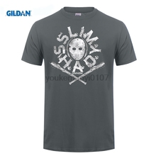 GILDAN T Shirt Supplier Short Sleeve Printed O-Neck Mens Eminem Shady Mask Curtain Show Relapse Marshall Tee втулка задняя stels jy 732dse 32h