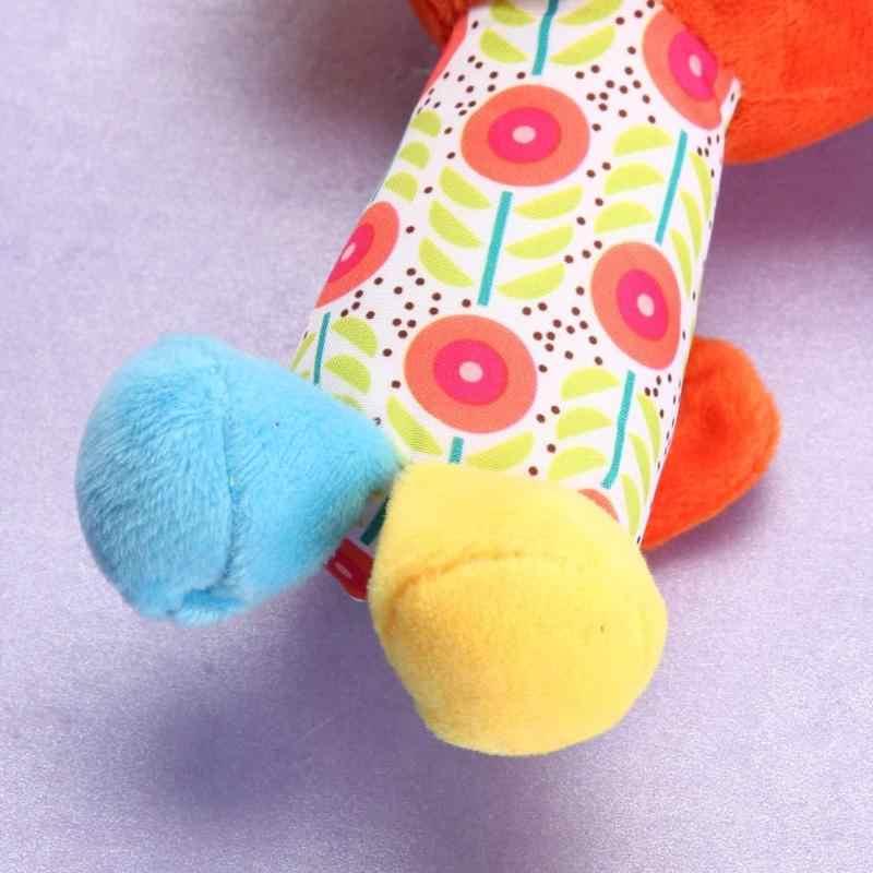 Bé sơ sinh Trẻ Em Đồ Chơi Lục Lạc Cotton Xe Đẩy Xe Giường Nằm Ghế Giáo Dục Lục Lạc Cho Bé Động Vật Kẹp Nôi Cho Bé Giường Chuông Treo đồ chơi