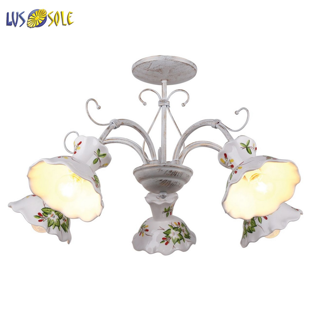 Chandeliers Lussole 42139 ceiling chandelier for living room to the bedroom indoor lighting jueja modern crystal chandeliers lighting led pendant lamp for foyer living room dining bedroom