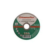 115 x 2.0 x 22,23 A 36 S BF Круг отрезной Hammer Flex 232-001  по металлу цена за 1 шт