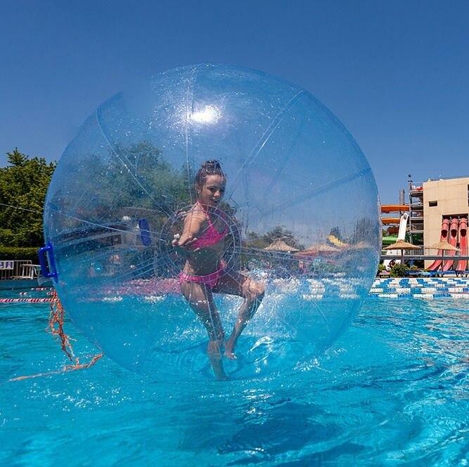 Outdoor Fun & Sport Speelgoed Bal Stress Bal 1.0mm Tpu Water Zorb Bal//opblaasbare Water Lopen Bal 2 m Diameter Gratis Verzending