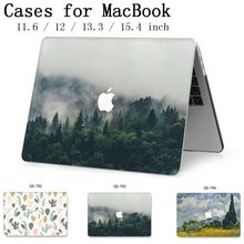 2019 bolsa de portátil nuevo caso para Apple MacBook Air Pro Retina 13,3 15,4 11 12 13 15 pulgadas con Touch Bar + Funda de teclado Cove(China)