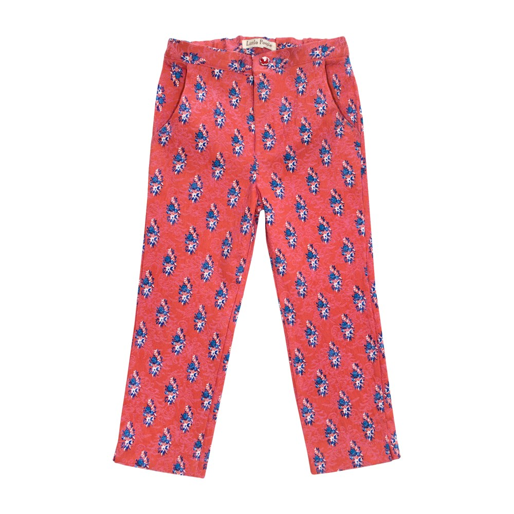 Little People 36311 Pants capris coral M No. (092) 15 coral intuitive