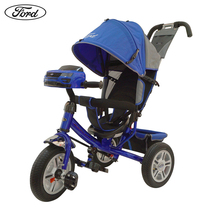 Велосипед детский 3-х колесный  Ford Explorer, надувные колеса 12 и 10\
