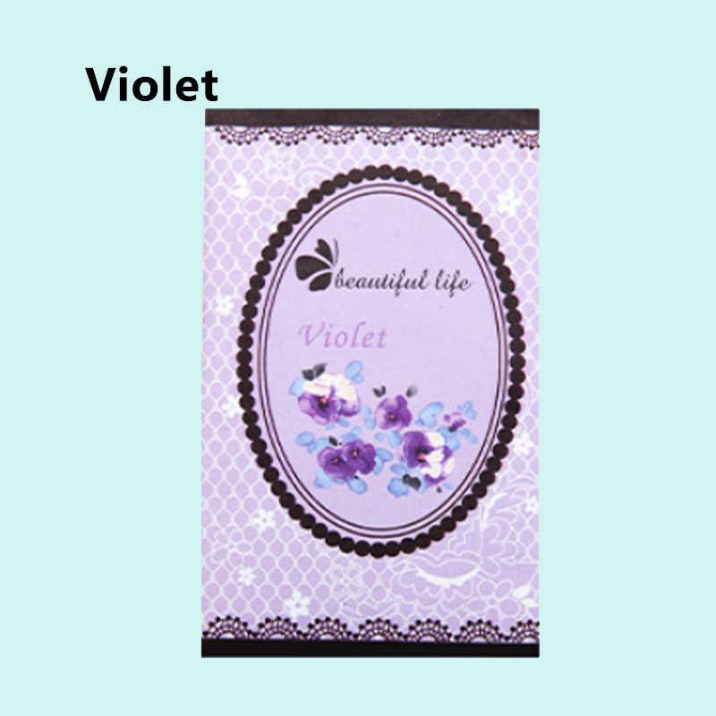 Natural Smell Incense Beautiful Life Rose Refreshing Scent Bag Lily Perfume Wardrobe Sachet 1PC Aromatherapy Air Fresh
