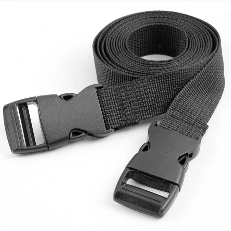 Outdoor Travel Tied Rope Adjustable Buckle Tied Band Travel Accessories Essential Strapping Cord Tape Rope Harnesses Durable