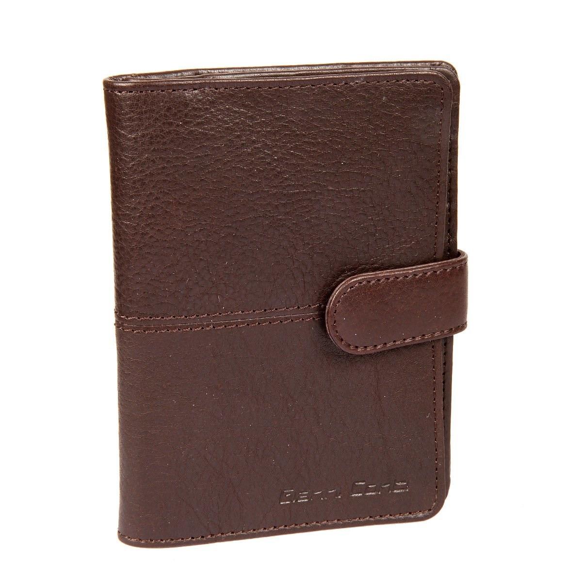 Passport cover and avtodokumentov Gianni Conti 1137458 dark brown