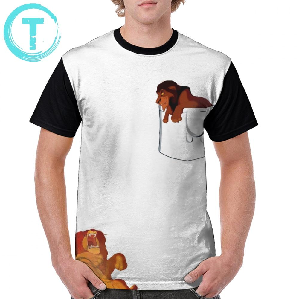 Lion King T Shirt Long Live The T-Shirt 100 Percent Polyester Printed Graphic Tee Mens Plus size  Fun Tshirt