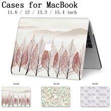 Hot Für Apple MacBook Air Pro Retina 11 12 13 15 Für Neue Laptop Fall Tasche 13,3 15,4 Zoll Mit screen Protector Tastatur Cove tas