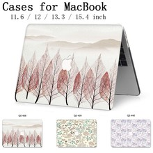 Hot For Apple MacBook Air Pro Retina 11 12 13 15 For New Laptop Case Bag 13.3 15.4 Inch  With Screen Protector Keyboard Cove tas