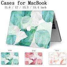 Nowy Laptop etui na Macbooka 13.3 15.4 Cal dla MacBook Air Pro Retina 11 12 13 15 z osłoną ekranu klawiatura Cove przypadku jabłko