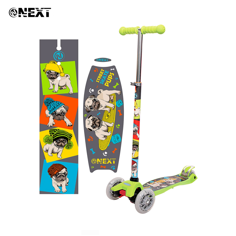 Kick Scooters Foot Scooters Next 264641 children trick scooter for boy girl boys girls Luminous wheels HL-TC-003-P1