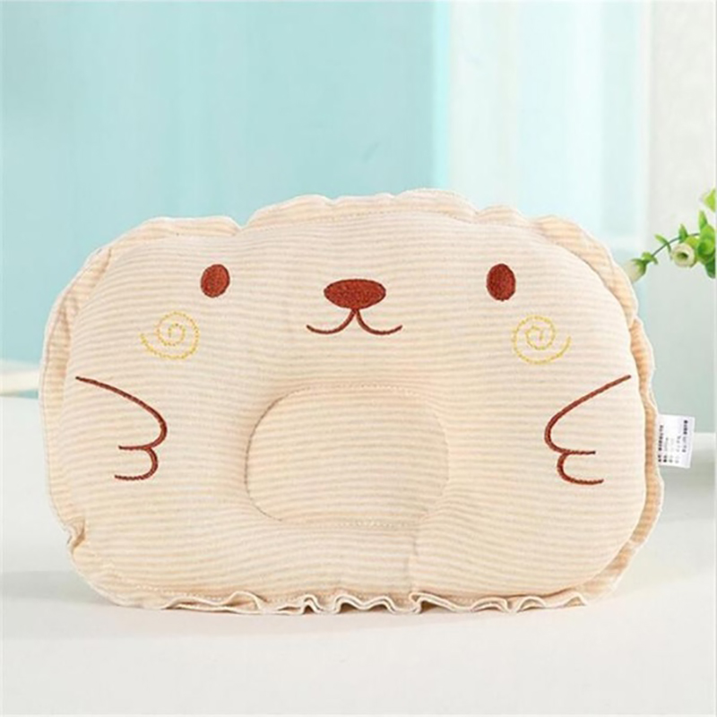 Back To Search Resultsmother & Kids Baby Bear Shaping Pillow Anti-roll Pad Flat Headrest Colored Cotton Embroidery New Design Soft Washable Child Sleep Locator Beautiful And Charming