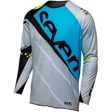 Новый семь MX горный велосипед dh moto rcycle Camiseta Ropa крест Спортивная футболка для скоростного спуска mtb Манга Лонга camisa mx Джерси