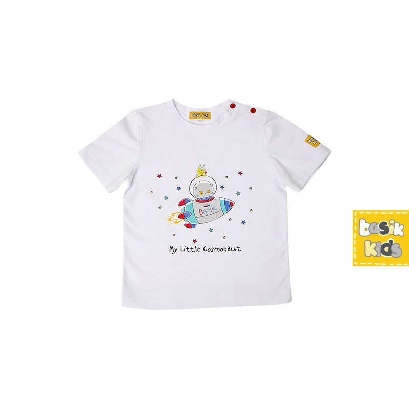 Basik Kids Blouse short sleeve white kids clothes children clothing kids clothes children clothing hot wheels hw91602 машинка хот вилс на батарейках свет звук красная 13 см