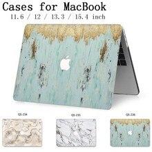 2019 Hot Caso Notebook Laptop Sleeve Para MacBook Air Pro Retina 11 12 13 13.3 15.4 Polegada Com Tela protetor de Teclado Enseada