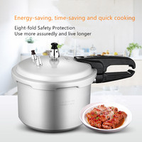 Aluminum Kitchen Pressure Cooker 16 20cm Gas Cooker Universal Cooking Energy Saving Safety Explosion proof Pressure Cooker
