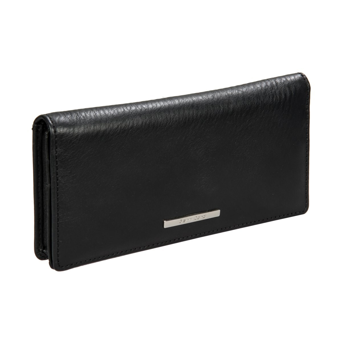 Coin Purse Gianni Conti 9508268 black simline vintage genuine crazy horse cow leather men men s long hasp wallet wallets purse zipper coin pocket holder with chain