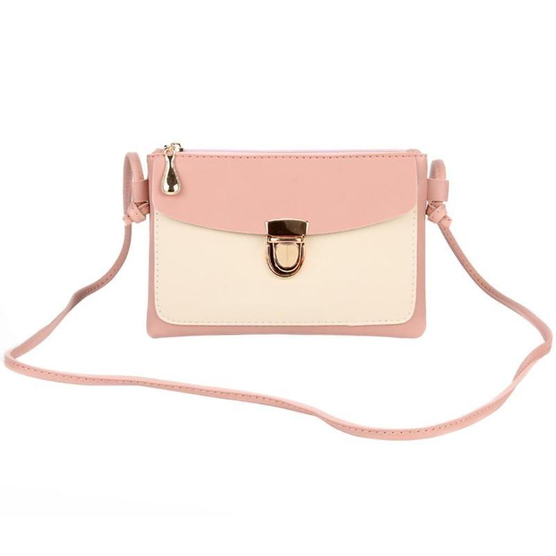 2018 New Bullet Lock Small Side Of Mini Mobile Phone Bag Messenger Bag Nice Women Bags Shoulder Bags Fashion Handbags 4