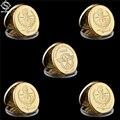 Набор памятных монет, 5 шт., мировая война, корпус Африки, Desert Fox Deutsche Erwin Rommel, Африка