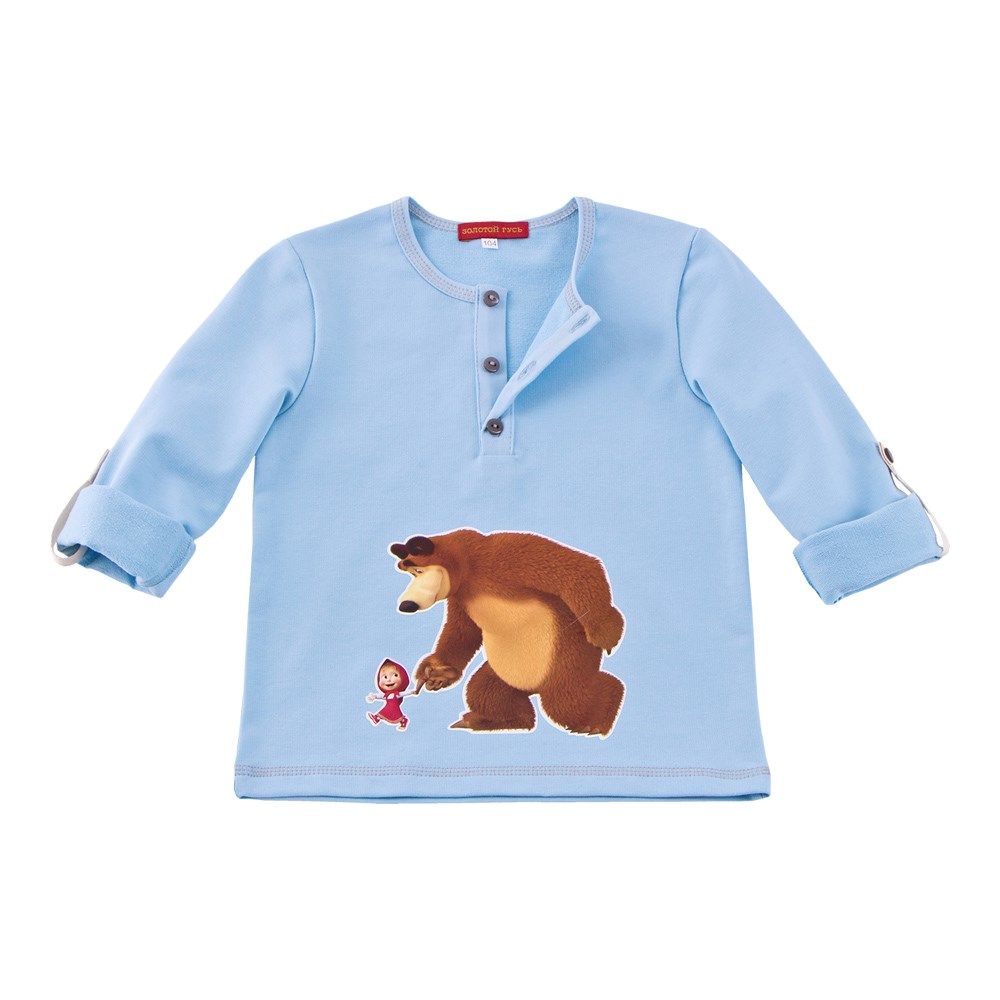 Masha and Bear polo M