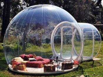 Tienda De campaña inflable con forma De árbol De burbujas, tienda De...