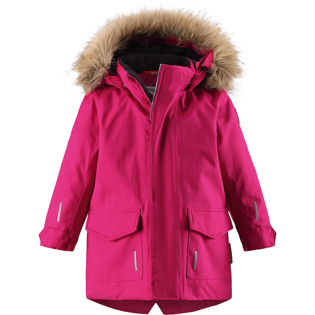 REIMA Jackets 8689313 for girls polyester winter  fur clothes girl 2016 new style popular 18 inch american girl doll pajamas clothes dress for christmas gift abd 072