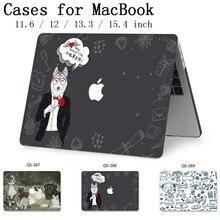 をノートパソコンのケースノートブックバッグ Macbook Air のプロ網膜 11 12 13 15.4 13.3 インチ画面プロテクターキーボード入り江