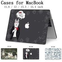 Nuevo para ordenador portátil caso de manga para MacBook Air, Pro Retina, 11 12 13 15,4 de 13,3 pulgadas con Protector de pantalla teclado Cove