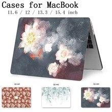 Gorący dla MacBook Air Pro Retina 11 12 13 15 dla nowego Apple etui na laptopa torba 13.3 15.4 Cal z ochraniacz ekranu klawiatura Cove tas