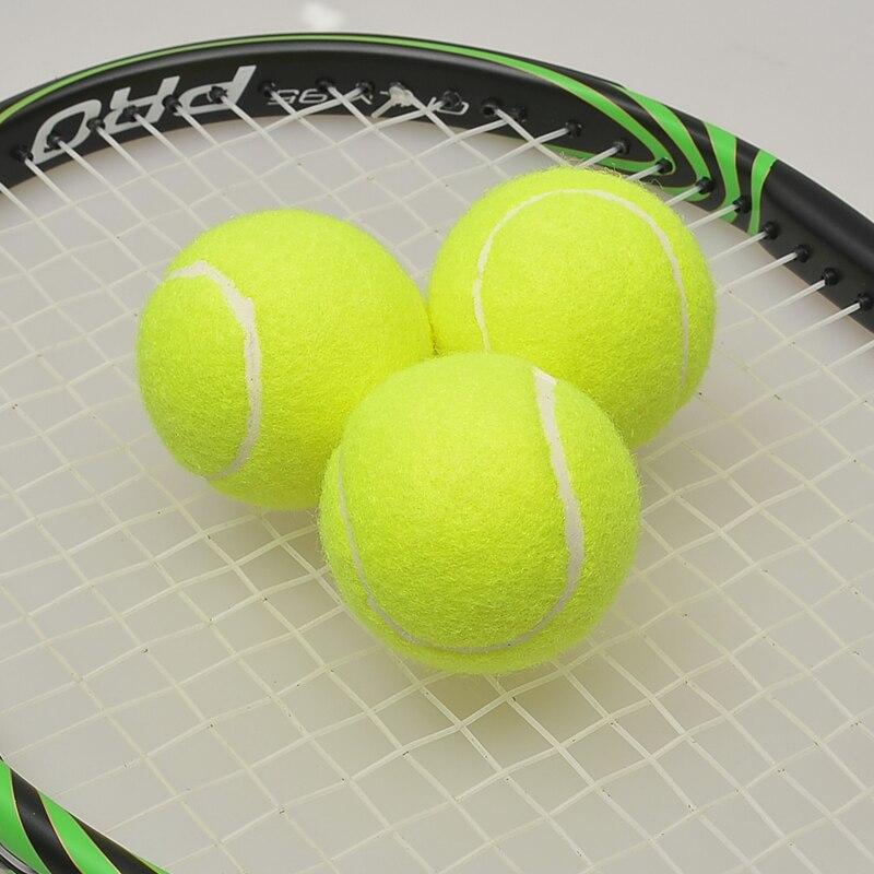 2 gab. FANGCAN FCA-02 praktizē tenisa bumbiņu primārajiem spēlētājiem