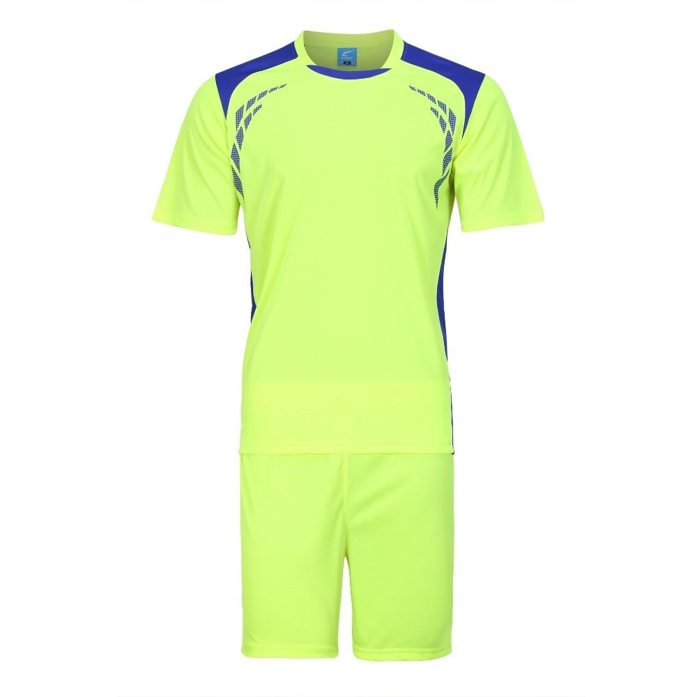 Boys Mens Football Jersey Breathable Soccer Jersey Sets