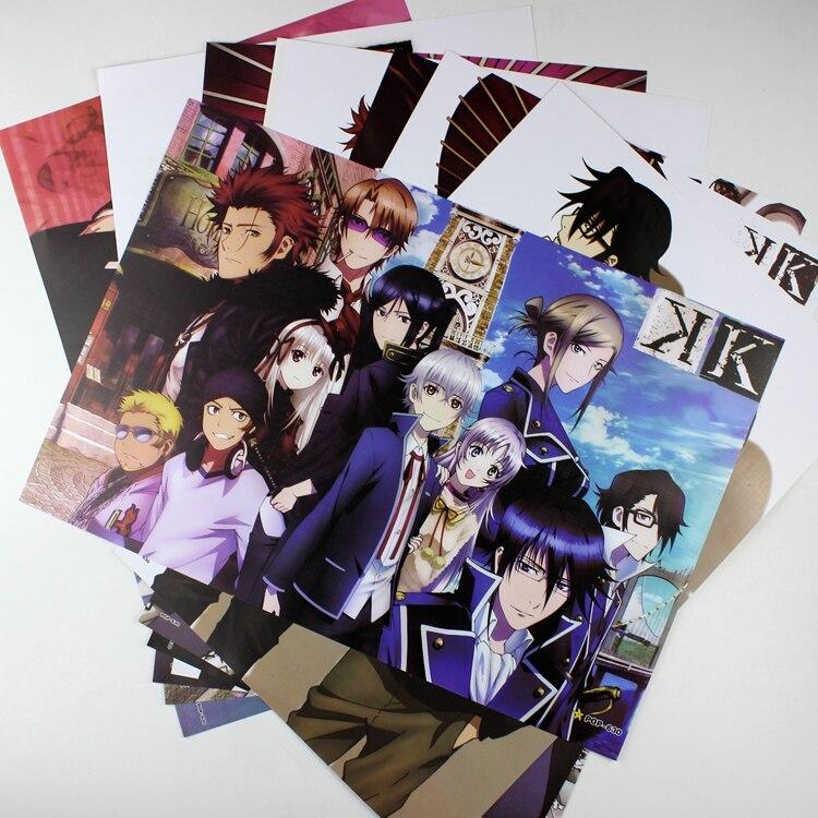 ツ)_/¯8*(42x29 cm) K retorno de reyes anime alrededor del cartel ...