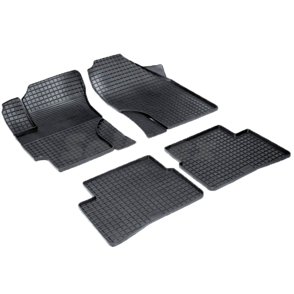Rubber grid floor mats for Hyundai Verna III 2006 2007 2008 2009 2010 Seintex 00352 for honda cbr 1000 rr 2008 2009 2010 2011 motorbike seat cover cbr1000rr motorcycle red fairing rear sear cowl cover